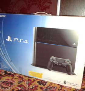PlayStation4- 500 gb + GTA 5 + PS camera +dualshok