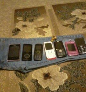 Телефоны на запчасти за все 2000 рублей