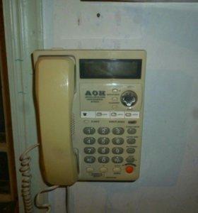 Стационарный телефон с АОН