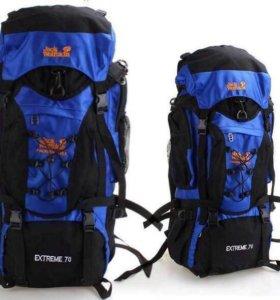 Новый Туристический рюкзак Jack WolfSkin 70 литров