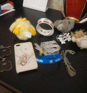 Мелочи (брелки,чехлы,браслет,бижутерия,косметика)
