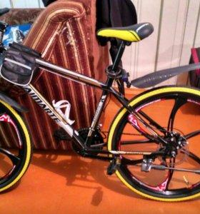 Новый Велосипед с литыми дисками!