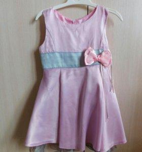 Платье для девочки на рост 74-80 (7-12мес.)