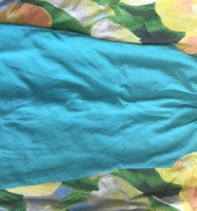 Платье женское бирюзовое 46