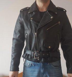 Кожаная куртка новая