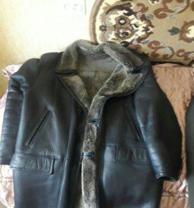 Дубленка и куртка.