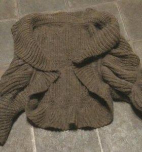 Болеро вязаное