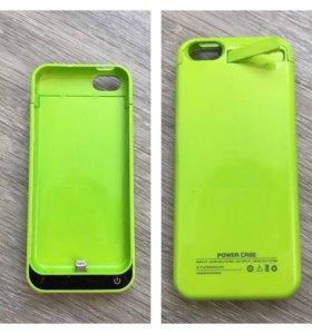 Power case для iPhone 5/5s на 2200 mAh