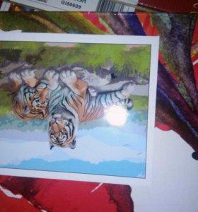 Картины по номерам Галерея 40*50