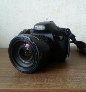 Продам canon 7D + объектив. Рассрочка