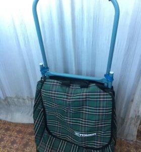 Хозяйственная сумка на колёсиках