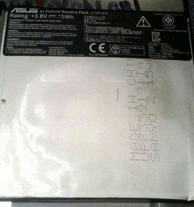 Планшет асус аккумулятор и матрица, корпус