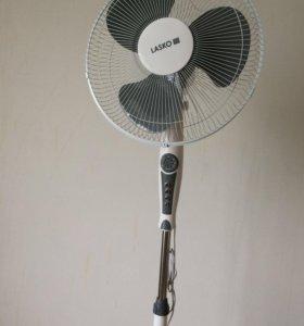 Вентилятор напольный с пультом,таймер,новый