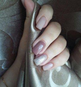 Наращивание ногтей гелем, schilac