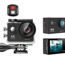 Экшен камера Eken h9r ultra hd 4k 1080p Black