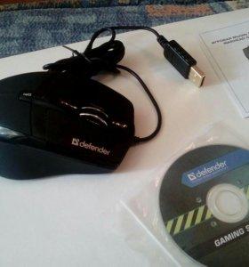 Мышь программируемая Defender GM-1300