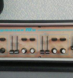 Усилитель, микшер на 6каналов Гармония-70М