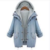 Куртка женская джинсовая.