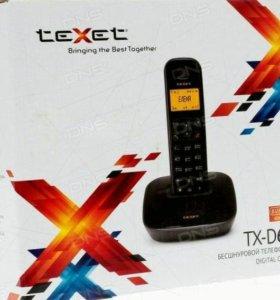 Телефон беспроводной texet