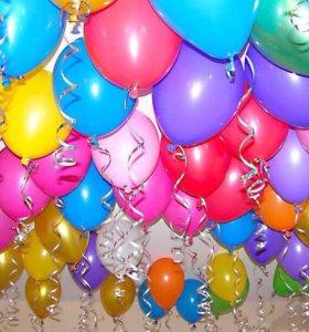 Гелиевые шары. Маркет радостей