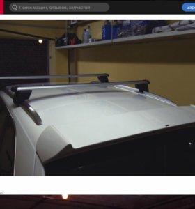 Багажник на крышу (рейлинги) для Audi Q5