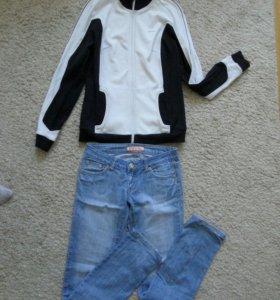 Кофта,джинсы,майка
