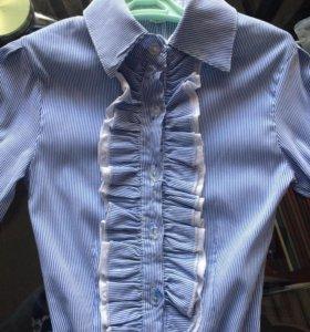 Рубашка для девочки р.36