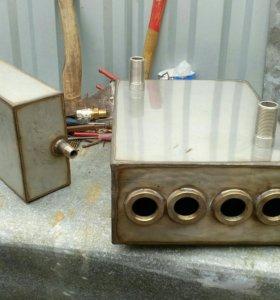 Электро котел и расширительный бочок