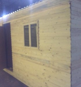 Бытовка распашная 6м,две комнаты и тамбур