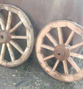 Колеса от лошадиной телеги