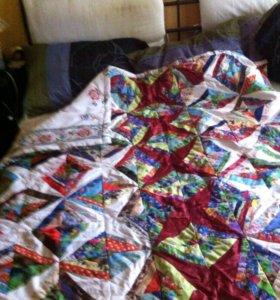 Лоскутное одеяло 150/210