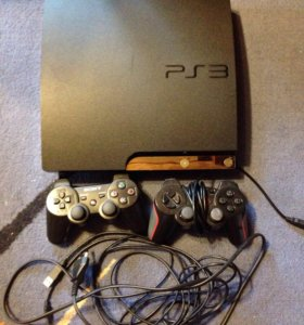 PlayStation 3 Slim 360 GB + Игры