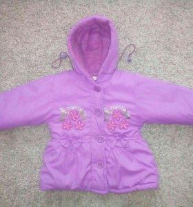 Куртка для девочки, 2-3 года