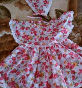 Платье+панамка