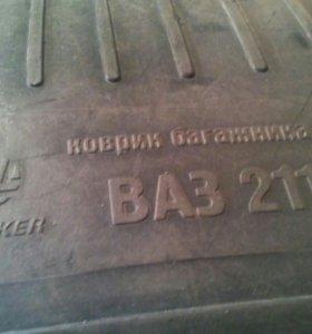 Ваз 2110 коврик багажника