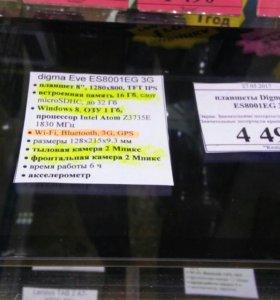 Планшет Digma Eve 3G