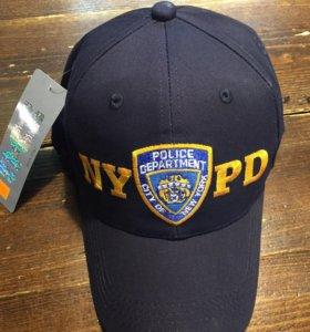 Бейсболка и футболка NYPD