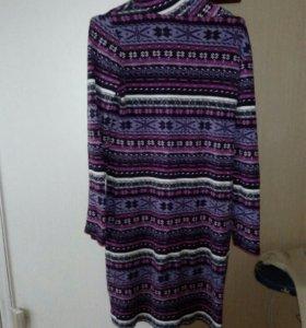 Платье шерстяное zolla
