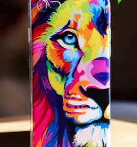 Чехол на iPhone 7, color lion