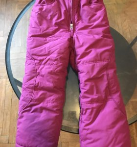 Зимние штаны на девочку