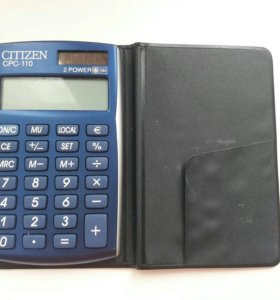Калькулятор CITIZEN CPC-110