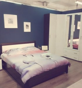 Спальня Сити глянец
