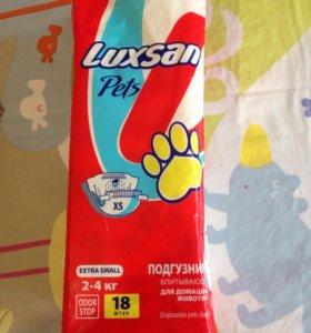 Подгузники для маленьких собак 2-4 кг