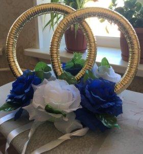 Кольца для машины на свадьбу