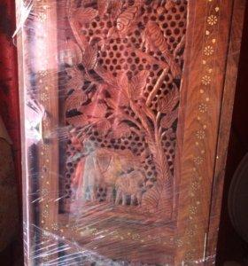 Продам мебель из красного дерева и тика