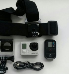 GoPro HERO 3+ Sliver Edition (серебристо-черный)