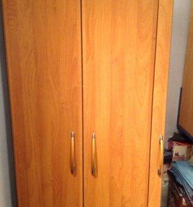 Шкаф двух-створчатый с зеркалом