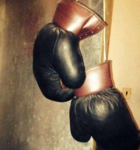 Боксерские Перчатки 80-х г. (раритет)