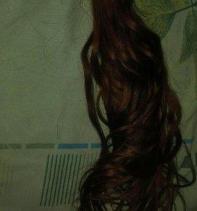 Волосы для наращивания капсульного ,