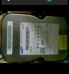 Жесткий диск SATA 80gb